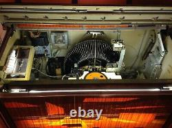 1968 Rowe AMI MM2 Jukebox with 100+ 45 RPM Vinyl Records & Service Manual