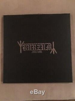 1Burzum 1992-1997 Picture LP Collection RARE NEW Black Metal Mayhem Nargaroth