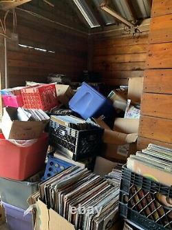 20,000+ Vinyl Records LPS Lot Collection
