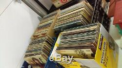3,072 Vinyl Record LP Lot Rock-Motown-Psych-Pop-Jazz-Swing Collection Unsearched