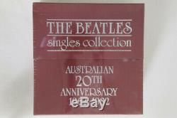 347 Beatles Singles Collection 20th 1962-1982 AB34 PARLOPHONE Australia SEALED