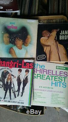 45 rpm record collection over 10,000 50' 60's 70's 80's Rock n Roll promos PS