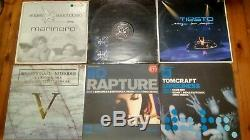 50 off Trance and Proggy Tunes 12 DJ VINYL RECORD COLLECTION BULK LOT