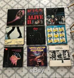 72x Rock RARE Job Lot Vinyl LP Records Collection All Pictured 1st Pressings