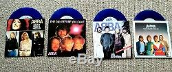 ABBA The Anniversary Collection Epic Records 1984 release blue vinyl