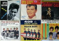 AMAZING 45 COLLECTION of 3500 4500 RECORDS 1950's to 1970's ROCK SOUL & MORE