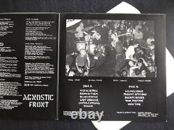 Agnostic Front Victim In Pain First pressing vinyl LP Record punk hardcore nyhc