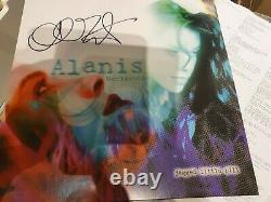 Alanis Morissette Jagged Little Pill. Signed Clear Vinyl Rare & Collectable