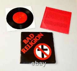 Bad Religion 7 Ep 1981 Epitaph (mint Super Rare Collectible)