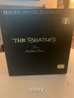 Beatles The Collection MFSL 14 albums 1982 with Book and Geo Disc Ex Condition