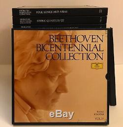 Beethoven Bicentennial Collection 1770-1970 Vinyl Box Set 16 Volumes DGG
