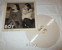 Boy Duo Signed Mutual Friends Vinyl Record