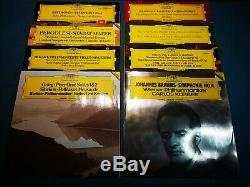 @DEUTSCHE GRAMMOPHON CLASSICAL RECORD COLLECTION x 100 RED STEREO /DIGITAL