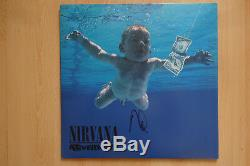 Dave Grohl Autogramm signed LP-Cover Nirvana Nevermind Vinyl