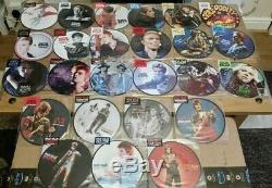 David Bowie 40th Anniversary Picture Disc Collection 25 in All