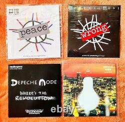 Depeche Mode 42 7 Vinyl Singles + Picture Disc Collection / Lot + Collector Box