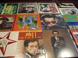 Elvis Costello Mfsl 9 Collection + Rare 10 + Idiot Delivery Hits 20 Lps