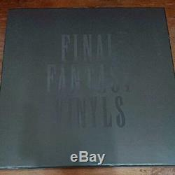 Final Fantasy vinyls Analog LP Record Limited edition rare Collector SQUARE
