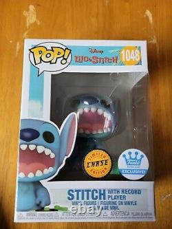 Funko Pop Disney Stitch With Record Player Chase Variant #2