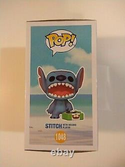 Funko Pop! Disney Stitch with Record Player Shop Exclusive CHASE MINT & IN HAND
