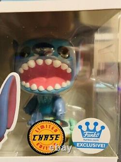 Funko Pop! Stitch With Record Player #1048 CHASE Funko Shop Exclusive