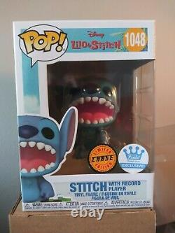 Funko Pop! Stitch with Record Player Chase Mint Cond