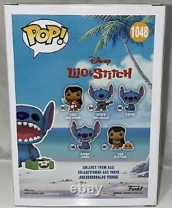 Funko Shop Exclusive #1048 Disney Stich with Record Player CHASE