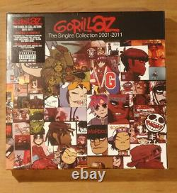 Gorillaz the Singles Collection 2001-2011 8x7 Box Set INVESTMENT COPY