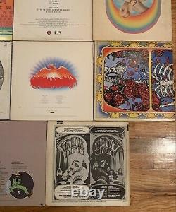 Grateful Dead LOT OF 19 LPs Record Collection Vinyl Jerry Garcia/NRPS (READ)
