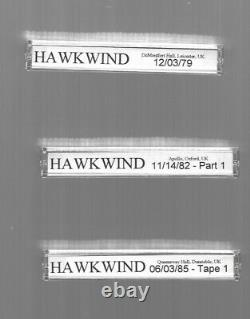 HAWKWIND Cassette Tapes Bootlegs Massive One-of-a-Kind Collection! Pristi
