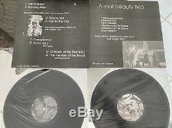 IRON MAIDEN A REAL BEAUTY VOL 1 + 2 LIVE 2 LP SEXY COVER COLLECTIBLE LOOK! Tmoq