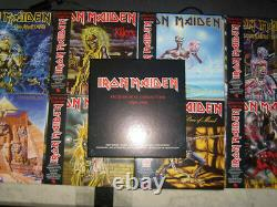 IRON MAIDEN Picture Disc Collection 1980-1988 UK 8 LP Box Set SEALED Killers