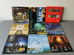 IRON MAIDEN limited edition Vinyl 8LP Complete Albums Collection 80-88 (2014)