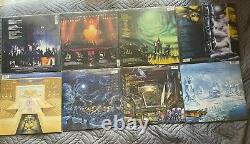 Iron Maiden Limited Edition Picture Disc Collection Complete 8 Discs (2012-13)