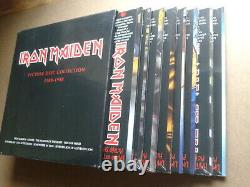 Iron Maiden Picture Disc Collection 1980-1988 (9) x Vinyl Discs Factory sealed