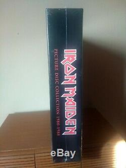 Iron Maiden Picture Disc Collection Box Set 1980-1988 LP New and Sealed