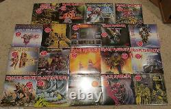 Iron Maiden Picture Sleeve Complete USA Set (19) 7 Vinyl Singles Collection