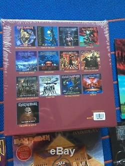 Iron Maiden The Complete Albums Collection 12 LP 180 Gram Killers X-Factor Box