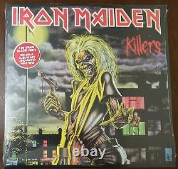Iron Maiden The Complete Albums Collection 1980-1988 5 LP Box Set US 2014 READ