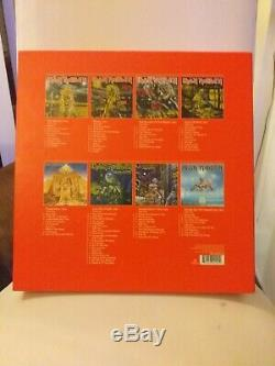 Iron Maiden The Complete Albums Collection 1980-1988 Sealed 8xlps New