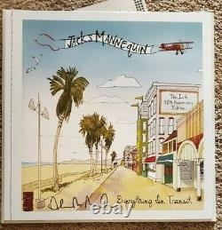 Jack's Mannequin Something Corporate LP North, Everything In Transit autograph