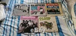 Jefferson Airplane/Starship Collection of 10 Vinyl LPs