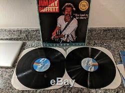 Jimmy Buffett Vinyl Record Collection (16 Albums in VG to NM Condition)