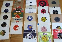 Job Lot Of 382 Rock N Roll 7 Singles Record Vinyl Collection