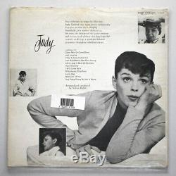 Judy Garland Signed Vinyl Record Judy Self Titled Album Great Condition