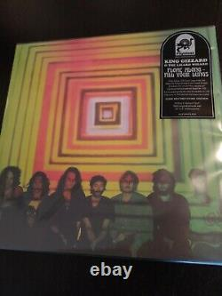 King Gizzard & the Lizard Wizard Record Vinyl lot of 5 first reissued album NEW