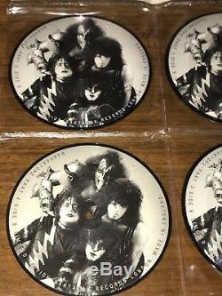 Kiss Limited Edition 7inch Interview Picture Disc Collection