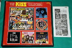 Kiss The Kiss Collection BRAZIL ONLY BOXSET 6 Lps + Booklet 1983