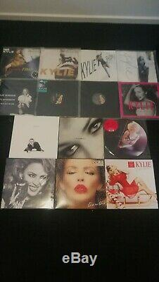 Kylie Minogue 12 inch Vinyl Collection 1987 2015 Very Good Condition