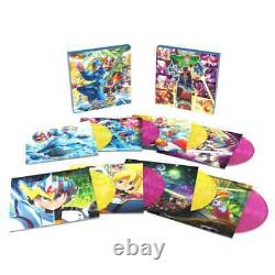 Laced Records Megaman X 1-8 Coloured Vinyl Collection BRAND NEW AND SEALED